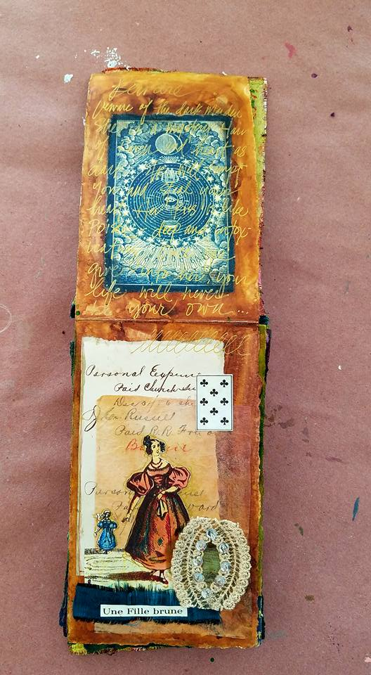 Student Work - Tin Box Book with Linda Trenholm