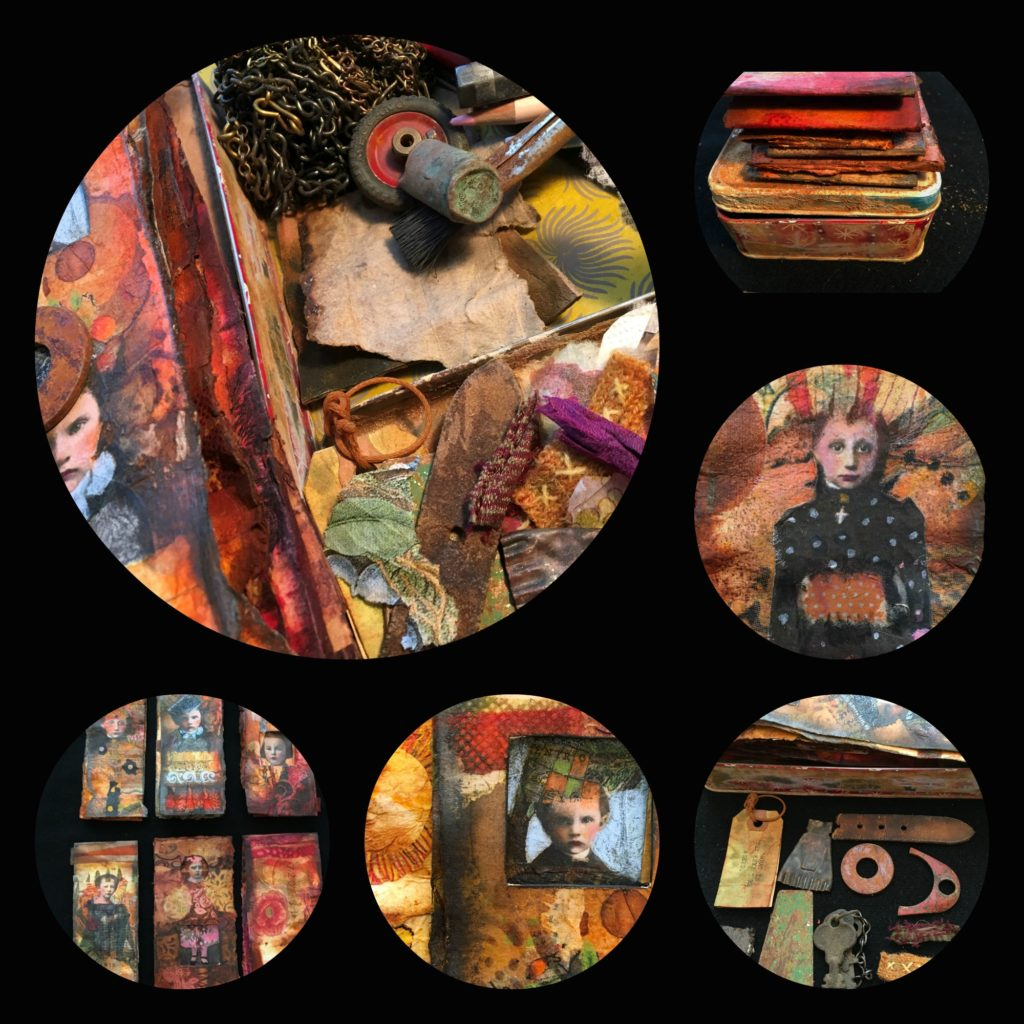 Tin Box Book Workshop - Linda Trenholm- Lindy Trenholm