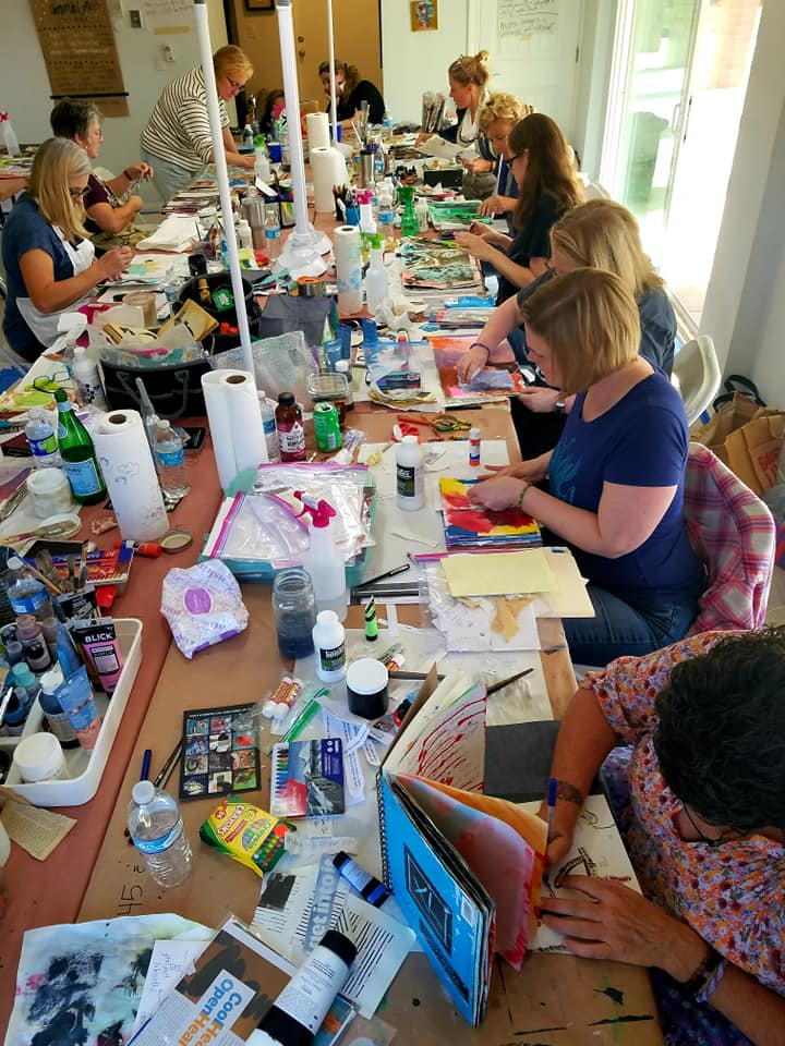 RAW Visual Journaling with Amanda Grace