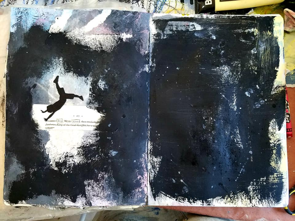 RAW Visual Journaling with Amanda Grace - Student Work
